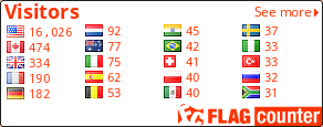 http://s03.flagcounter.com/count/AgUJ/bg=FFFFFF/txt=FF3300/border=000000/columns=4/maxflags=20/viewers=0/labels=0/